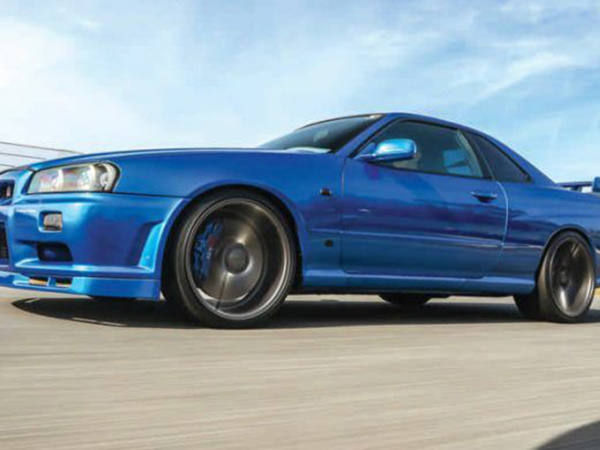 NISSAN SYLINE GT-S  R34
